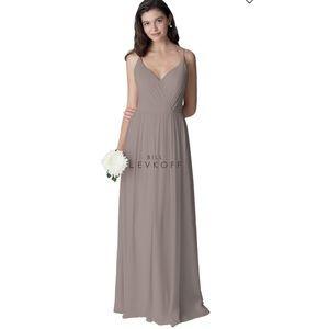 Bill Levkoff Bridesmaid Or Prom Dress Desert Gray